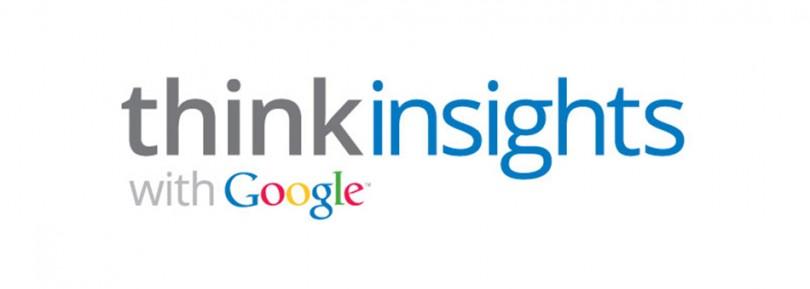 Google ürünlerinden Google Think Insights ile çoğu Google aracına tek çatı altında ulaşabiliyorsunuz.
