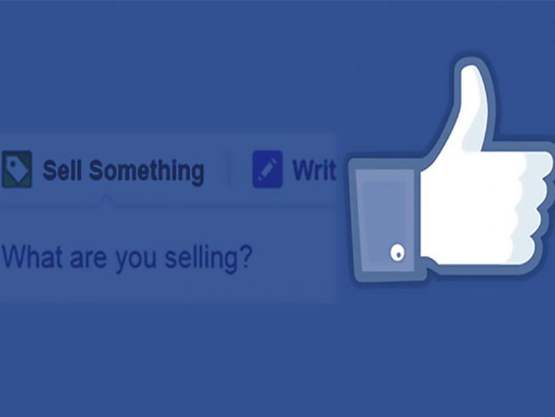 Facebook Bir Şey Sat