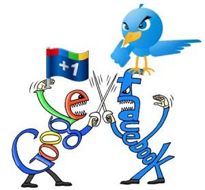 Google+-facebook-twitter-
