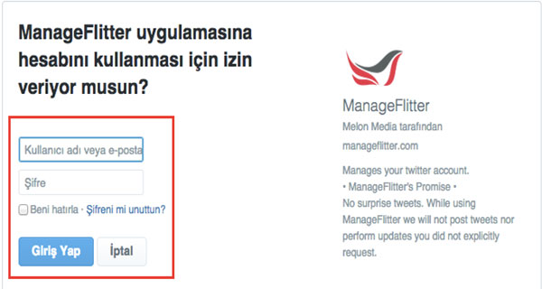 ManageFlitter-giris
