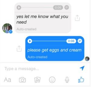 facebook-messenger çeviri özelliği