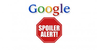 Google Spiler Alert Logo