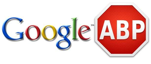 Google ve AdBlock Plus