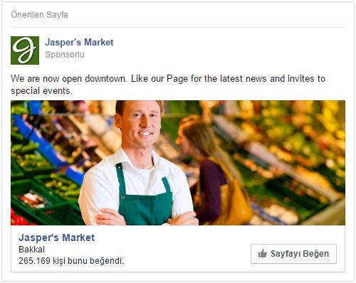 Facebook Reklam Modelleri