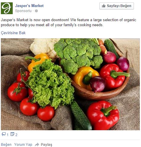 ,Facebook Reklam Modelleri